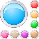Los botones de — Vector de stock