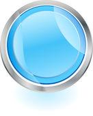 闪耀的按钮 — 图库矢量图片