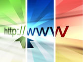 Http- surf the web — Stock Photo