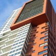 Stock Photo: Appartment building rotterdam