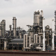 A petrochemical factory - Foto Stock