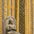 Stock Photo: Buddah scupture
