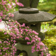 Stock Photo: Japanese garden lantern