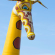 Stock Photo: Rubber giraffe
