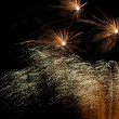 Stock Photo: Fireworks explosion