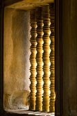 Window in a temple — Stock Photo