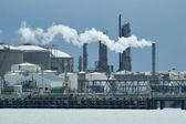 Kemisk fabrik — Stockfoto