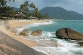Beach Koh Samui — Stock Photo