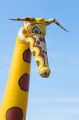 Giraffa in gomma — Foto Stock