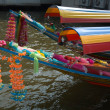 Colorfull boats — Stockfoto