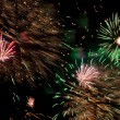Colorful fireworks - Stok fotoraf