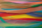 Colorful shawls — Stock Photo