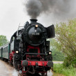Photo: Old steam train