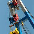Part of a crane - Stock Photo