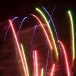 Firework happy new year — Stock Photo