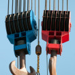Lifting hooks — Stockfoto