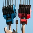 Lifting hooks - Foto de Stock