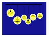 Lamp — Stock Vector