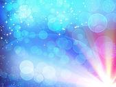 Blue shiny abstract background — Stock Photo