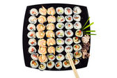 Susi rolled cymbals plate — Stock Photo