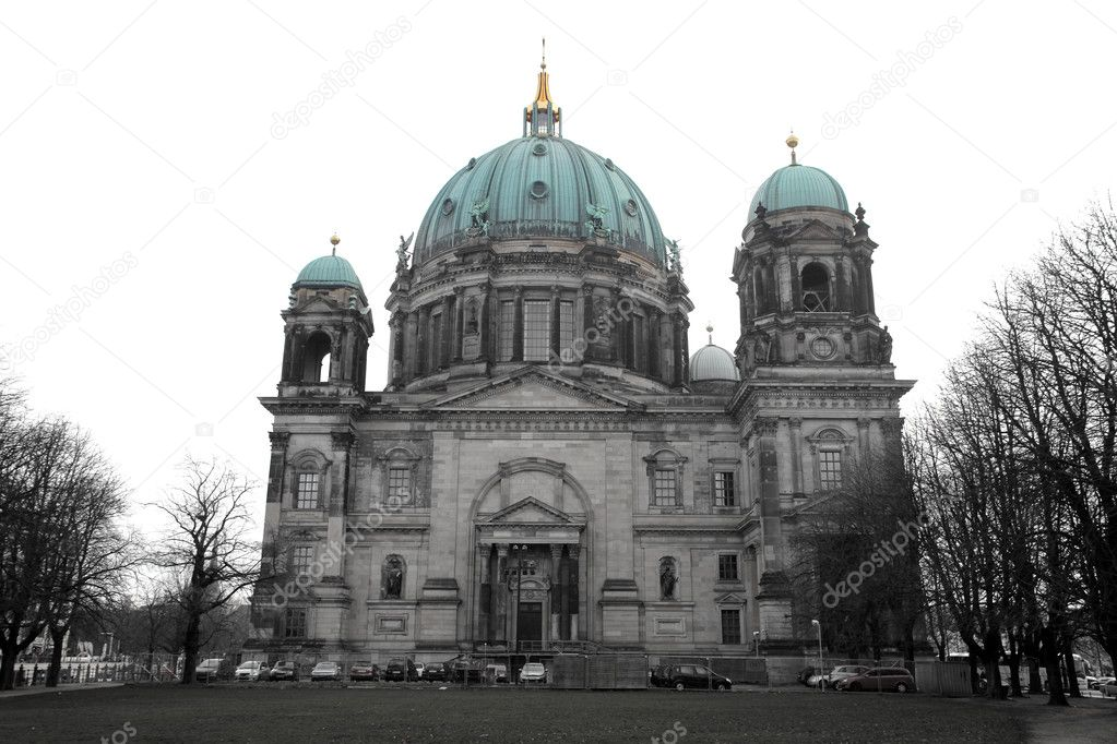 Cathedral in Berlin — Stock Photo #3194141