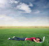 Relax in the nature — Stock Photo