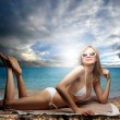Stockfoto: Relax at the beach