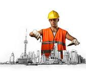 Worker — Stock Photo