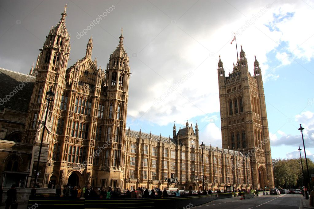 View of Westminster Abbey in London — Stock Photo #3231514