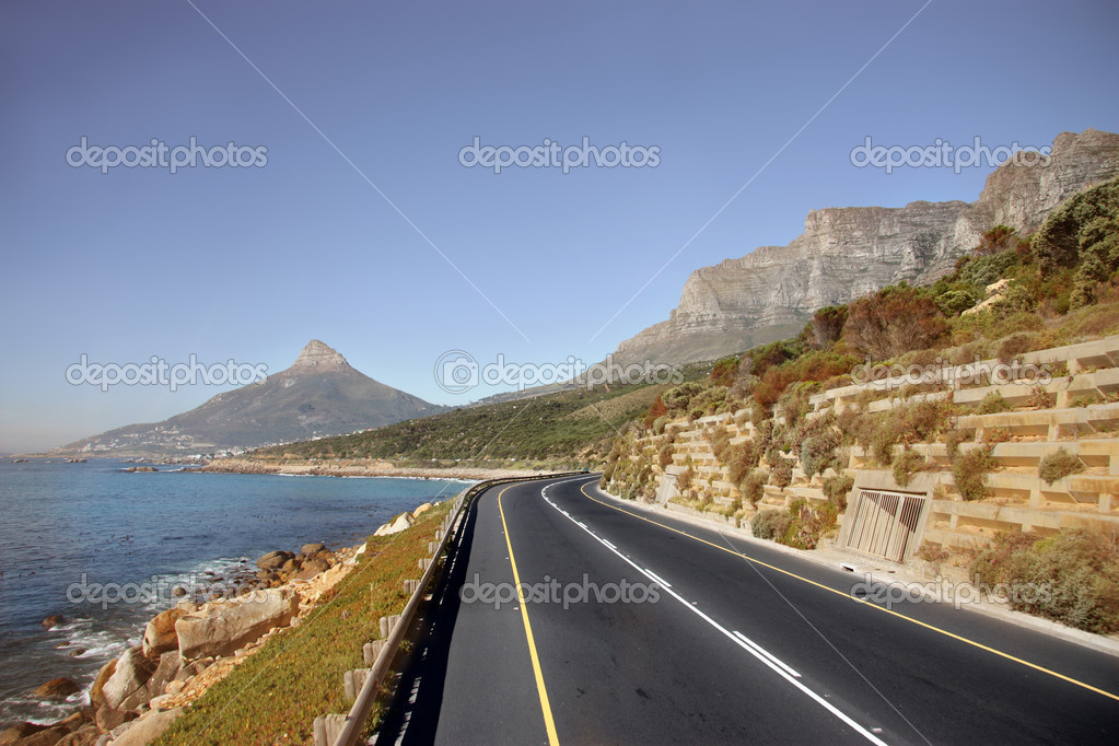 Beautiful street of cape town  Stock Photo #3233001