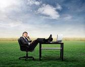 Negócios verdes — Foto Stock