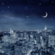 Royalty-Free Stock Photo: City by night