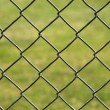 Abstract Background of Link Fence — Photo
