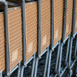 Stock Photo: Row of shopping carts