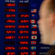 Stock Photo: Business travel image of currency board