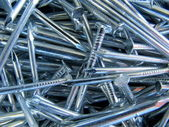 Abstract Background of Nails — Stock Photo