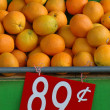 Retail Image of Oranges at a Market — Stock Photo