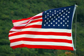 Patriotic Image Of An American Flag — Stock Photo