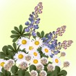 Royalty-Free Stock Vector Image: Wild Flowers
