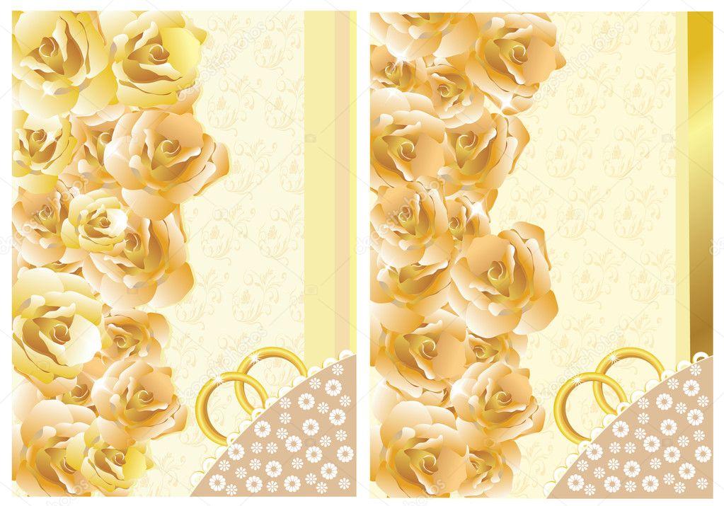 Custom Card Template standard greeting card size template : Wedding Invitation/Greeting Card u2014 Stock Vector u00a9 LioraA #2911189