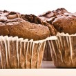 Royalty-Free Stock Photo: Homemade Double Chocolate Muffins