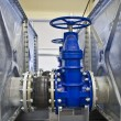 Water Valves and tanks — Stock Photo