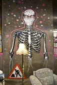 Famous Graffiti — Stock Photo