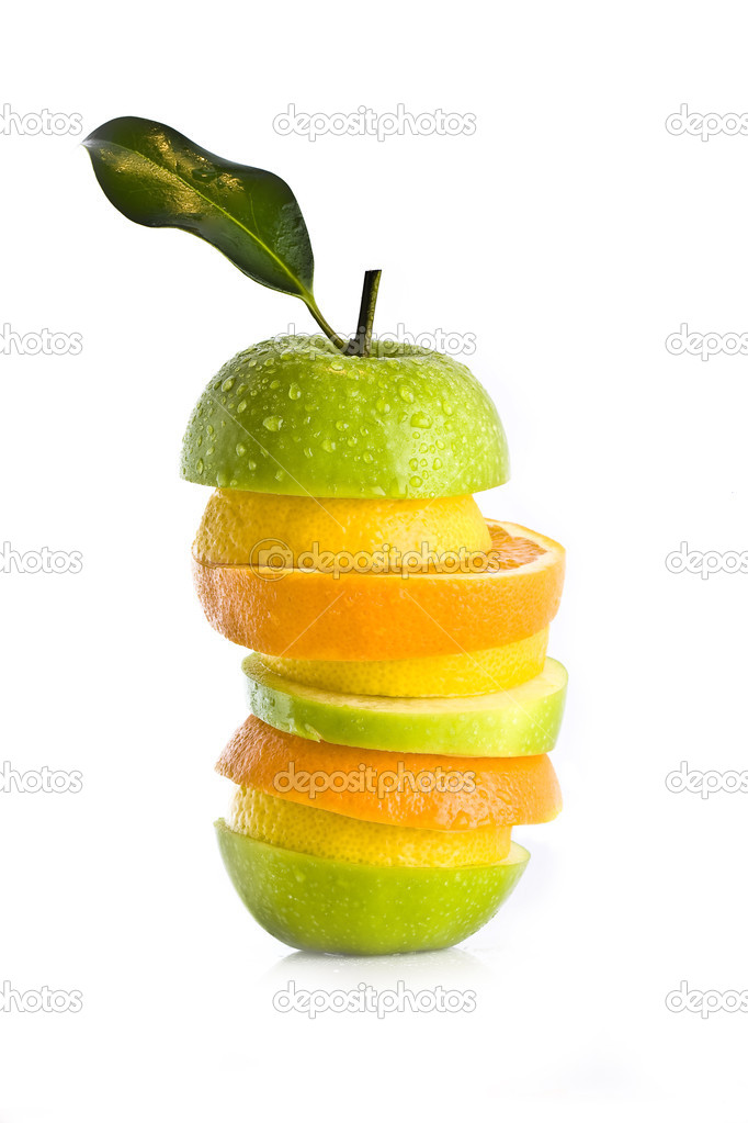 Mixed Fruit Salad  — Stock Photo #3074444