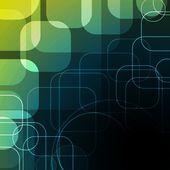 Fondo abstracto con cuadrados redondeados eps10 — Vector de stock