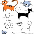 Cats — Stock Vector
