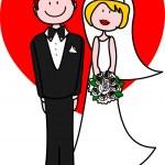 Newlyweds — Stock Vector #2693543