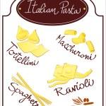 Постер, плакат: Italian pasta