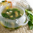 Spinach soup — Stock Photo #2716265