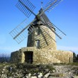 Stock Photo: Windmill in France